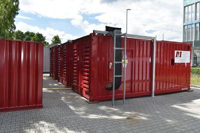 Bau individueller Notstromaggregate mit Schaltanlagen