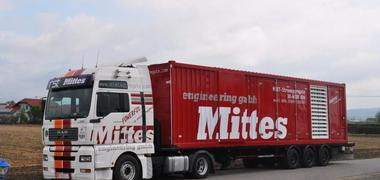 Mobiles-Mietaggregat 1250 KVA