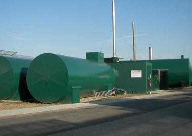 Vegetable oil driven CHP plant from 150 to 330 KW