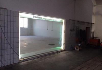 Umbauarbeiten Halle 1